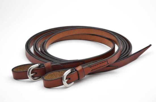 Dr Cook Western leather split reins