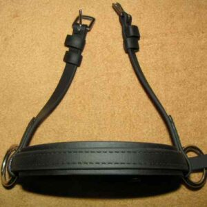 beta synthetic noseband Dr Cook Bitless Bridle
